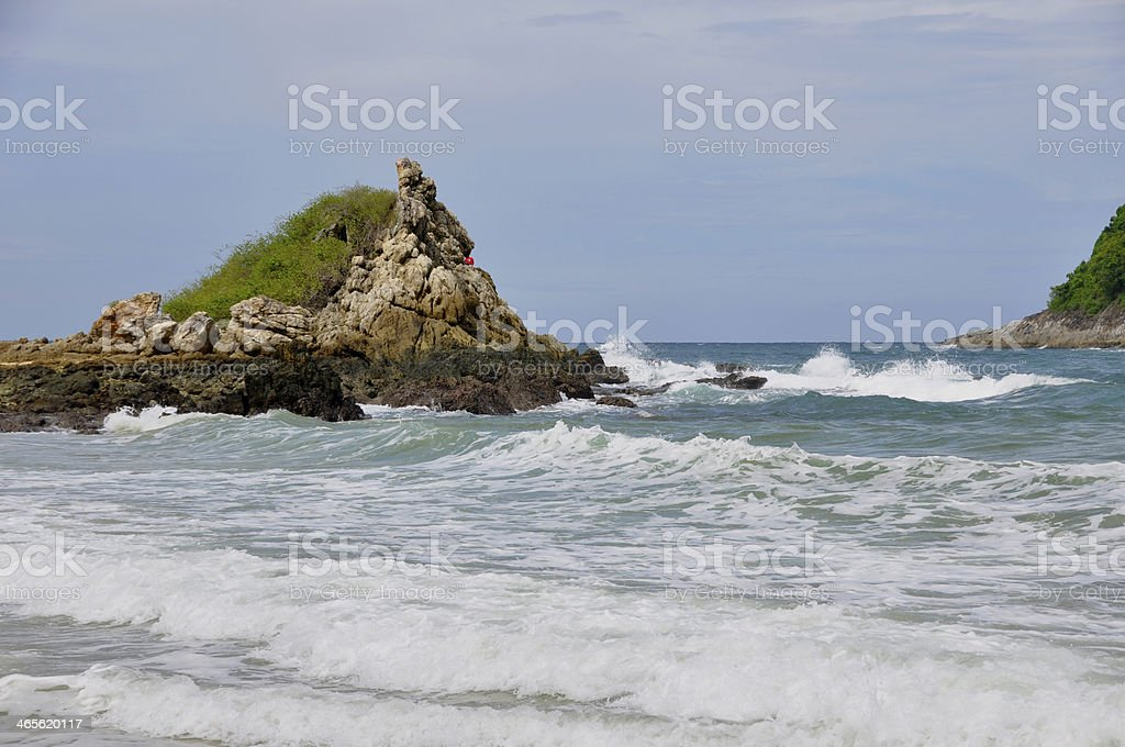 Phuket Island coastline royalty-free stock photo