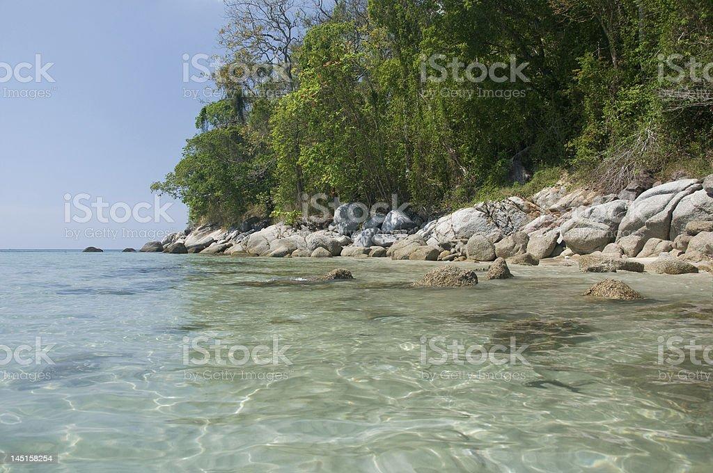 Phuket, Tailândia-Kata Beach foto royalty-free