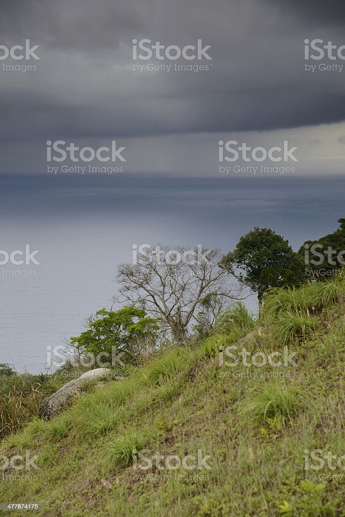 phuket top view point in rainy cloud royalty-free stock photo