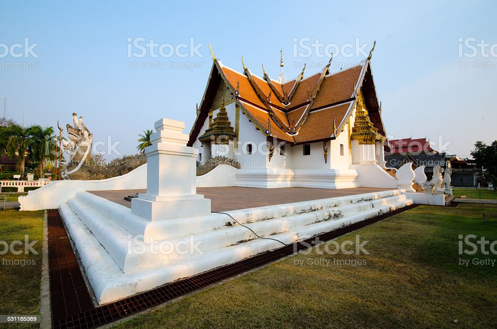 Phumin Temple stock photo