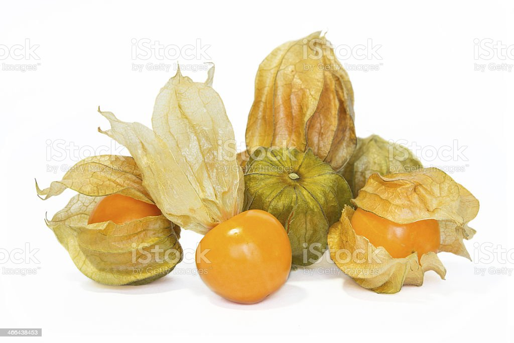 Physalis fruit. stock photo