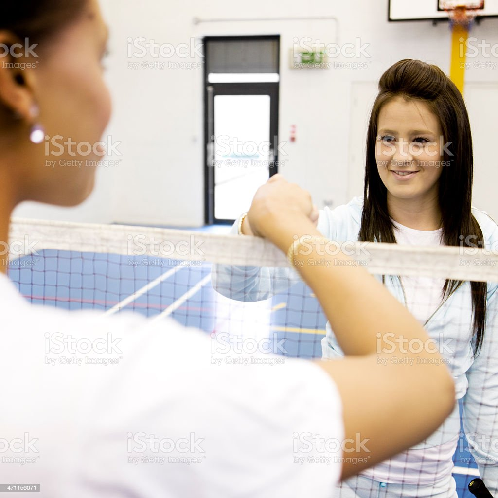 physical education:  fair play royalty-free stock photo