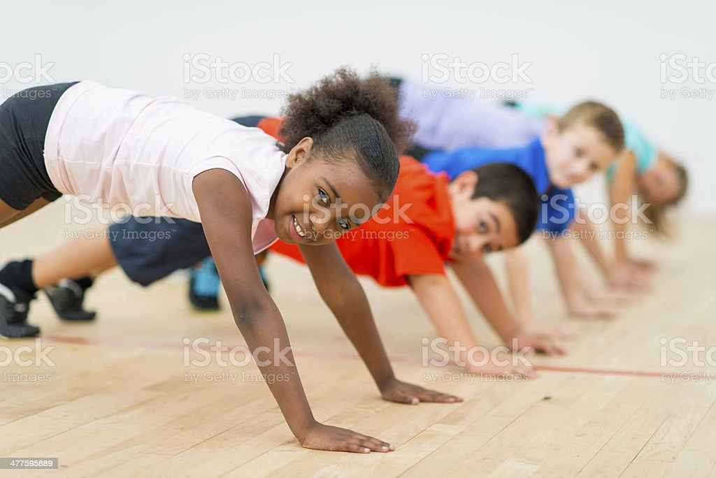 Physical Education stock photo