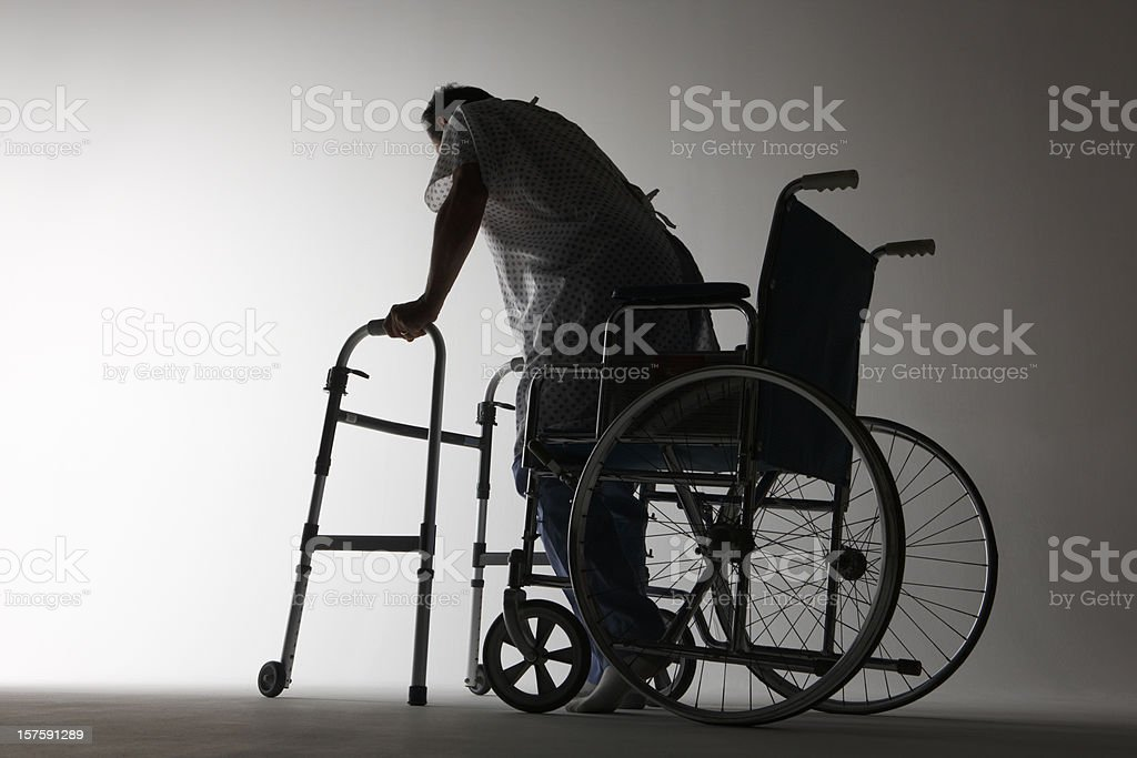 Physical Rehabilitation royalty-free stock photo