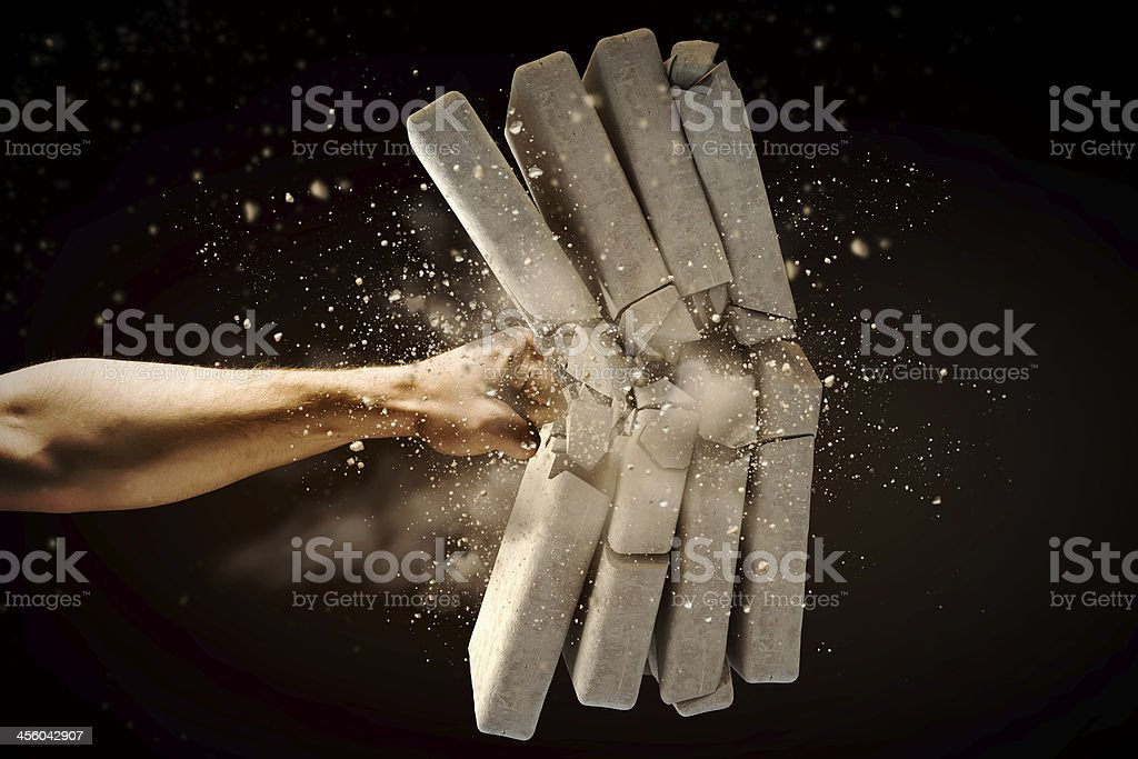 Physical strength stock photo