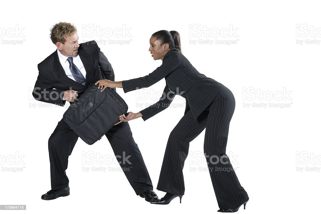 Physical theft stock photo