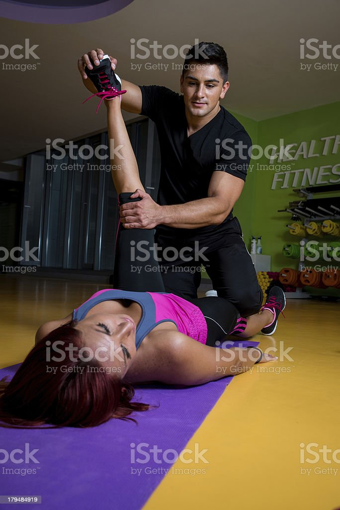 Physical Therapy - Hip stock photo