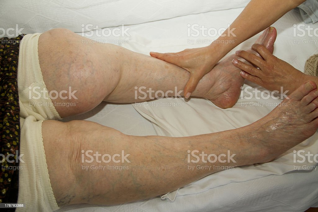 Physical Therapy Series royalty-free stock photo
