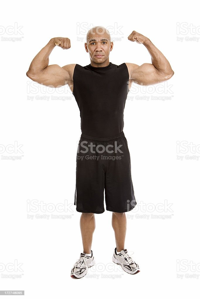 Physicall Fit royalty-free stock photo
