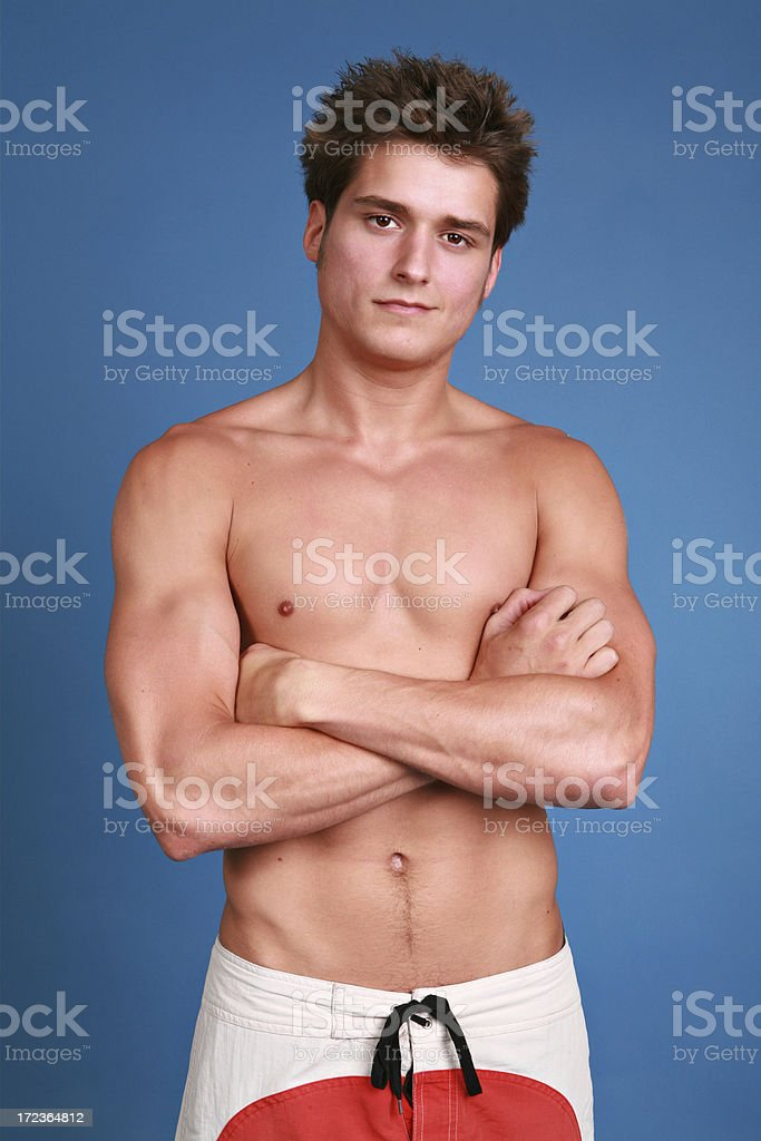 Physically Fit royalty-free stock photo