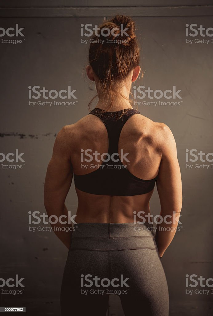 Physically Fit Woman stock photo