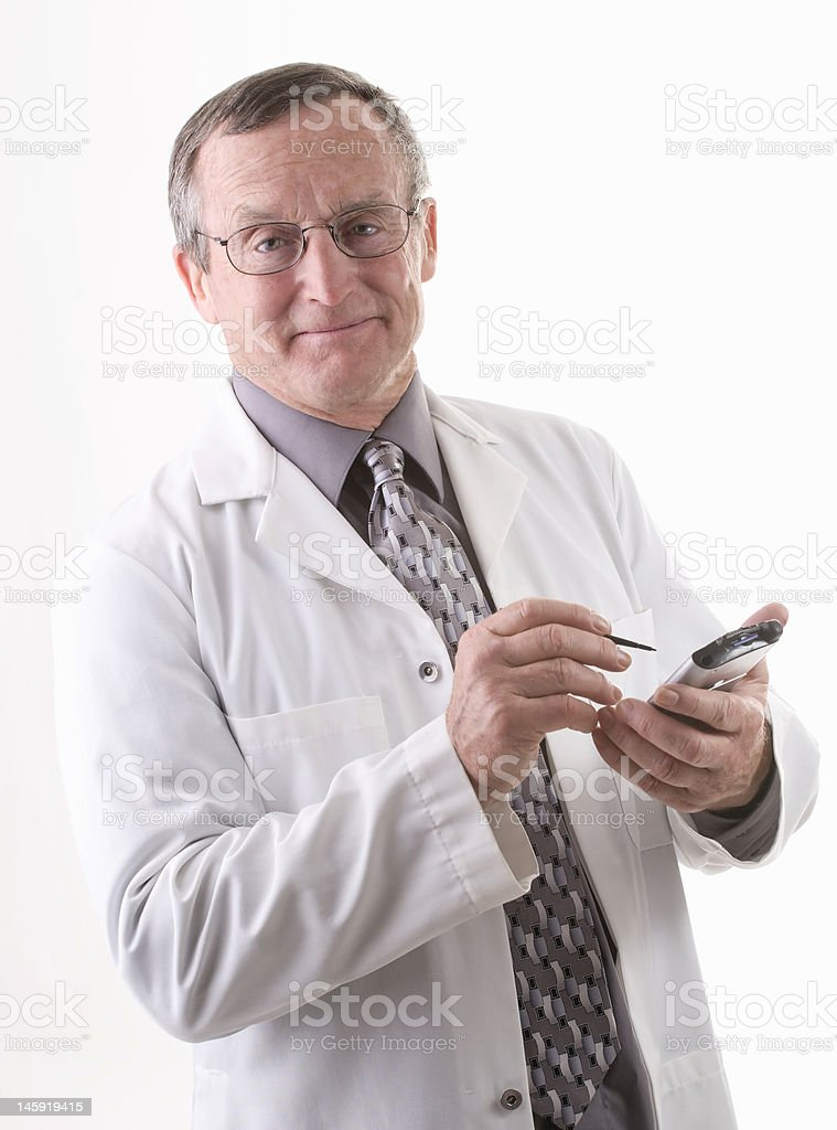 Physician Series stock photo