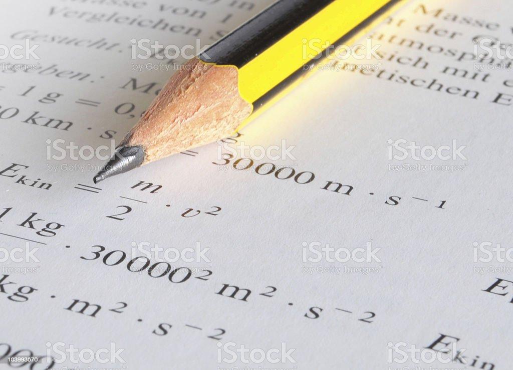 physics education stock photo