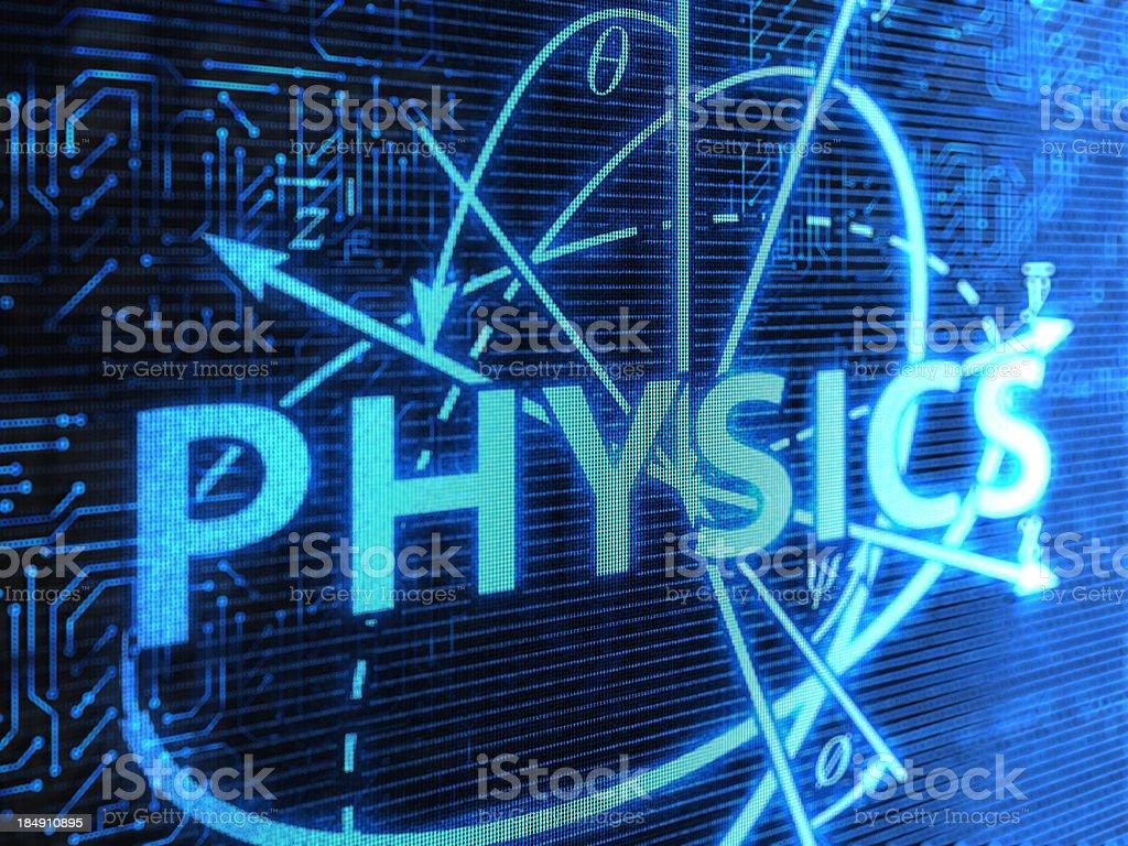 Physics royalty-free stock photo
