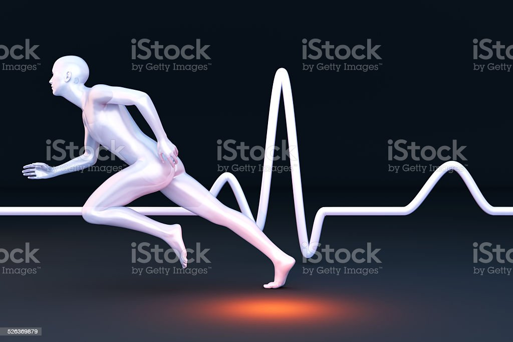 Physiology Measurement stock photo