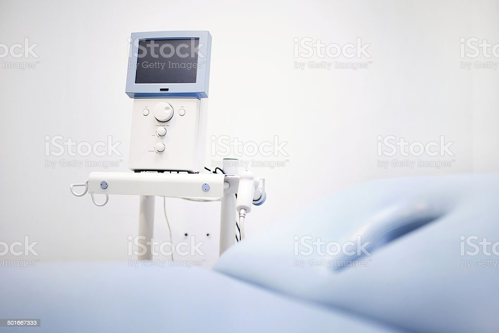Physiotherapy equipment stock photo