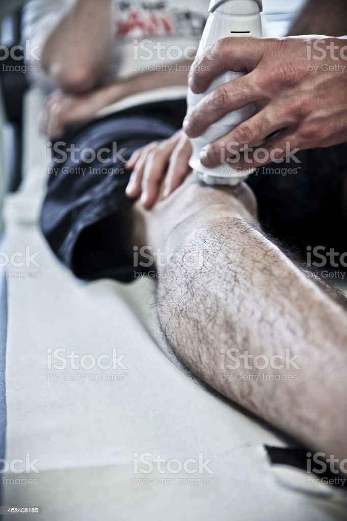 Physiotherapy #4 royalty-free stock photo