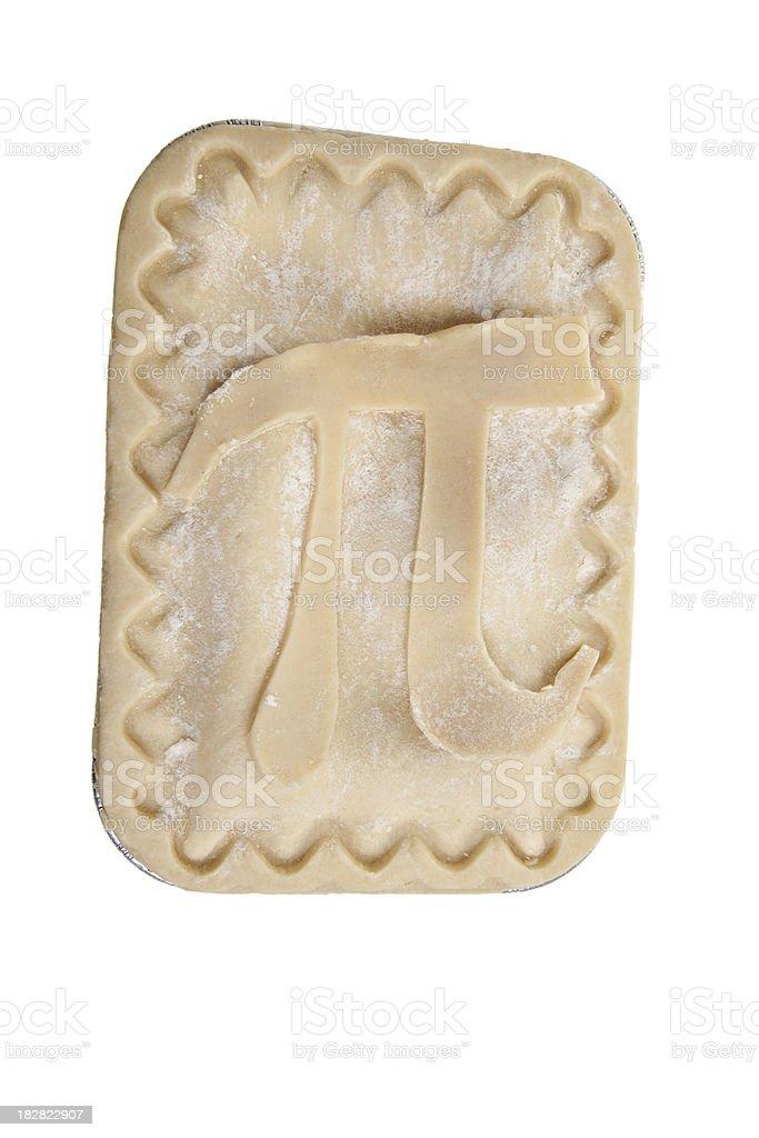 Pi on Pie royalty-free stock photo