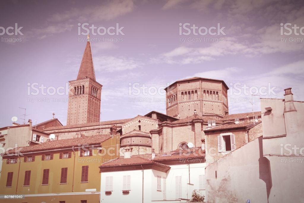 Piacenza, Italy stock photo