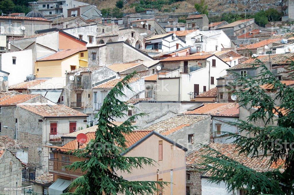 Piana degli Albanesi stock photo