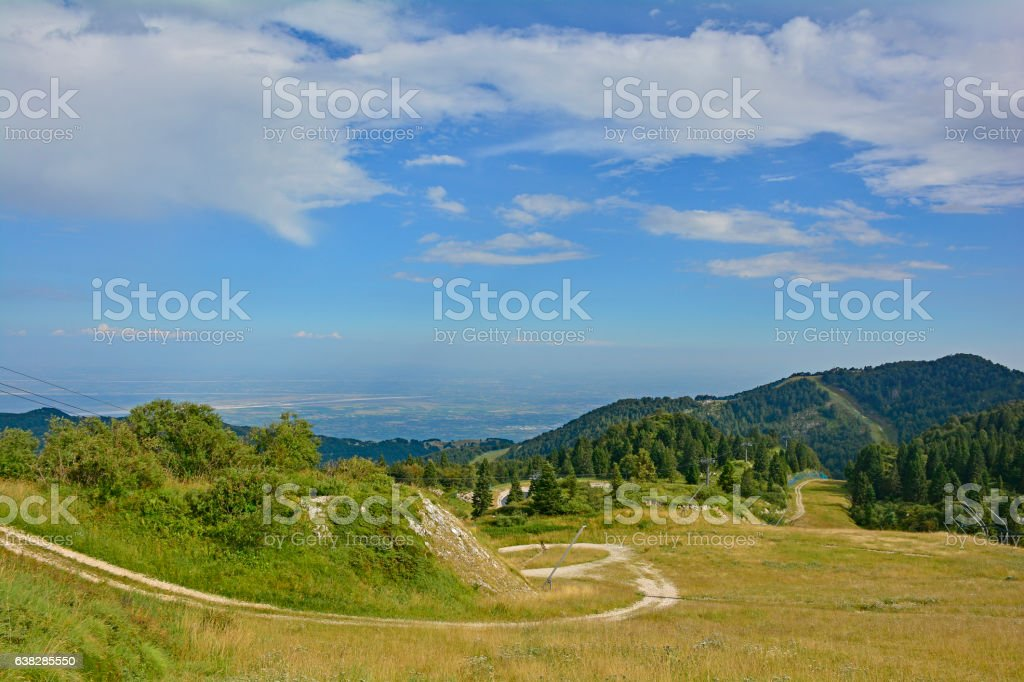 Piancavallo stock photo