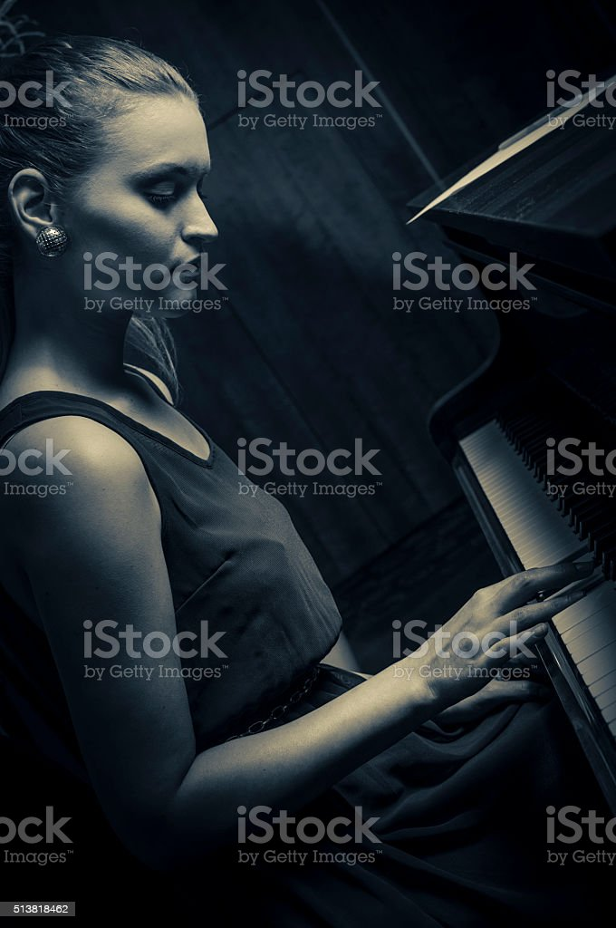 Pianissimo stock photo
