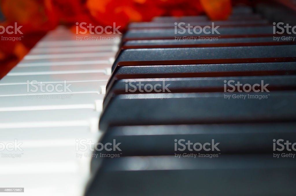 Piano Ambient stock photo