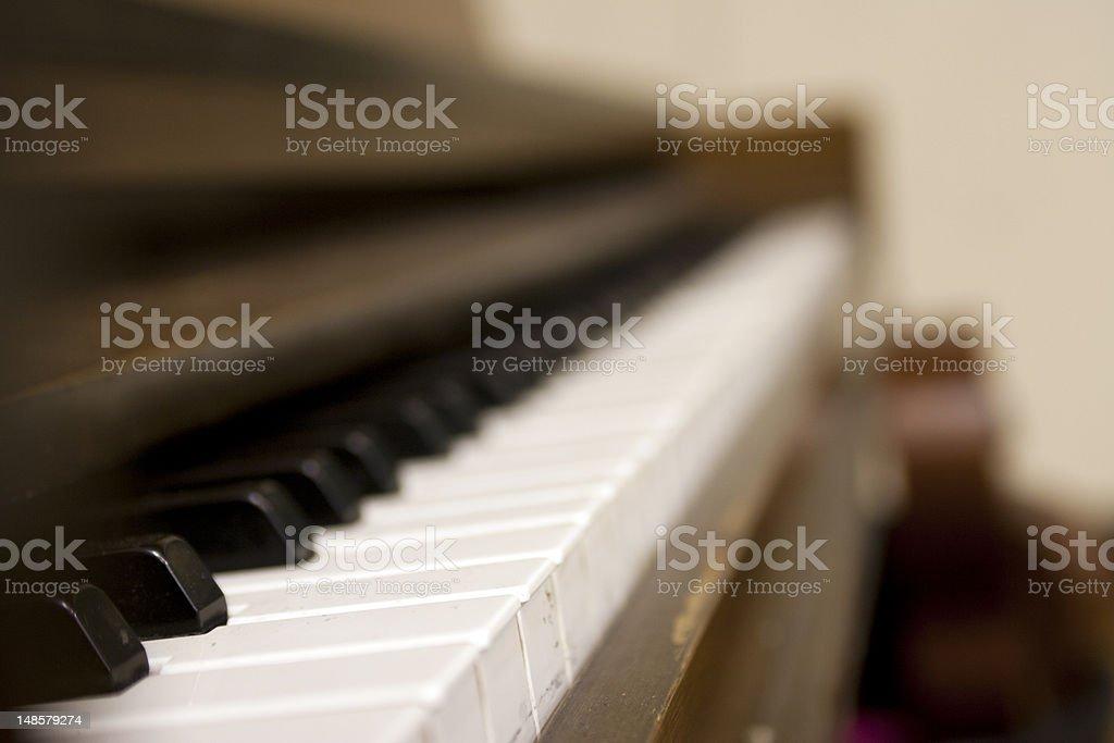 Piano Angle stock photo