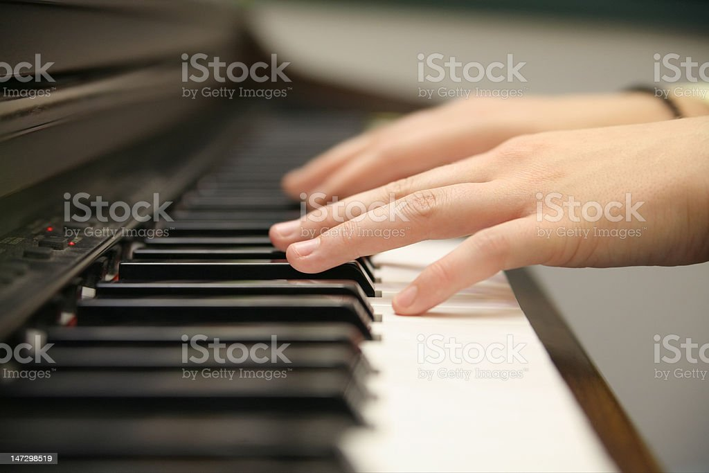 piano composition royalty-free stock photo
