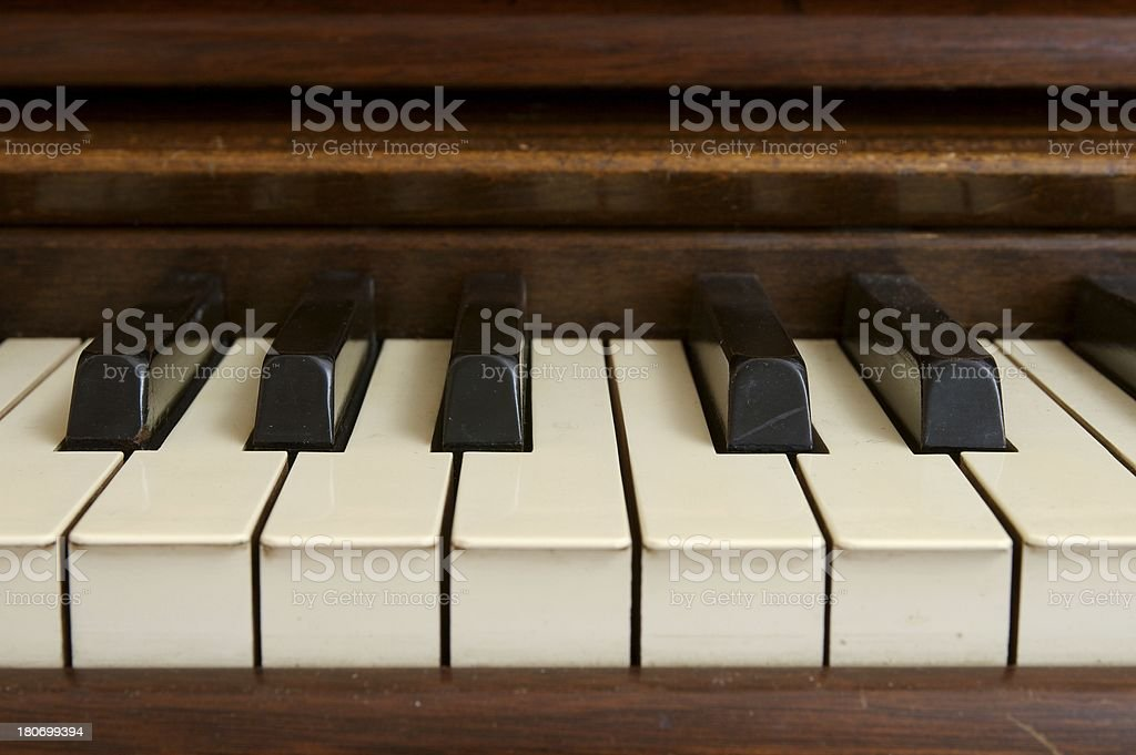 Piano Detail royalty-free stock photo