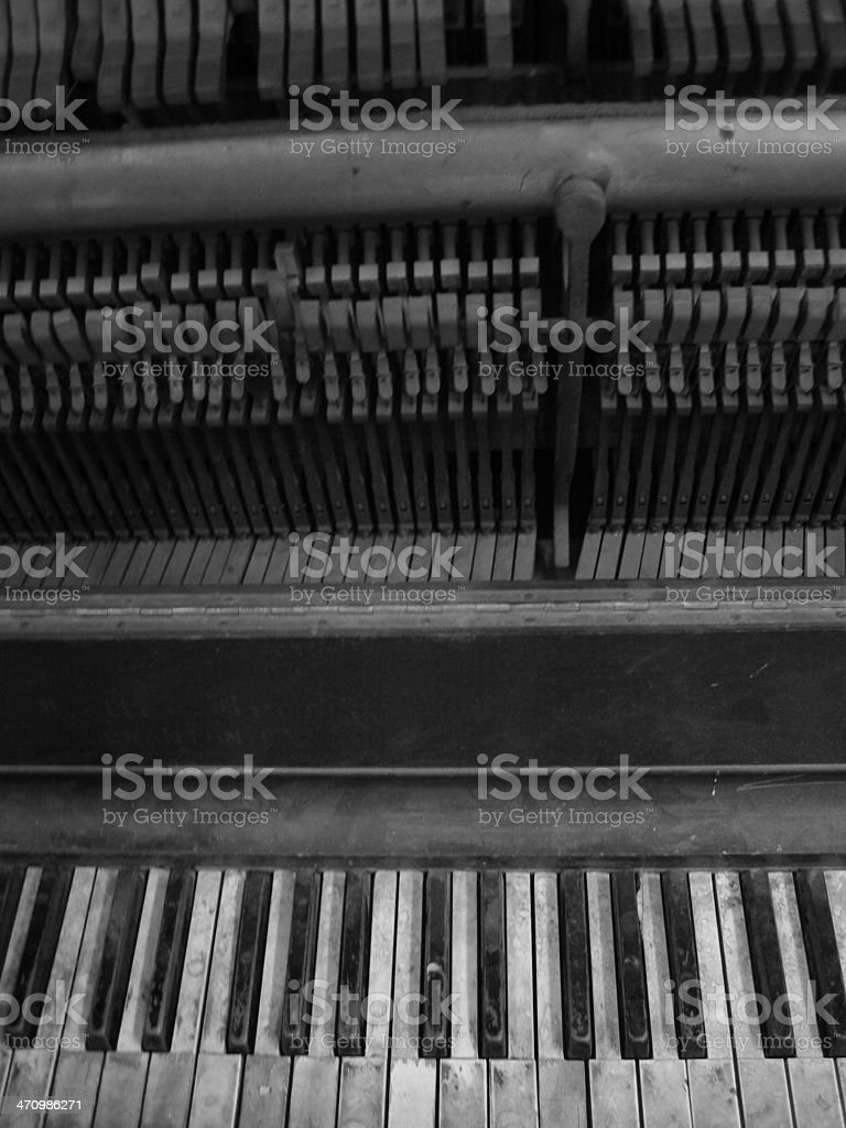 Piano - G royalty-free stock photo