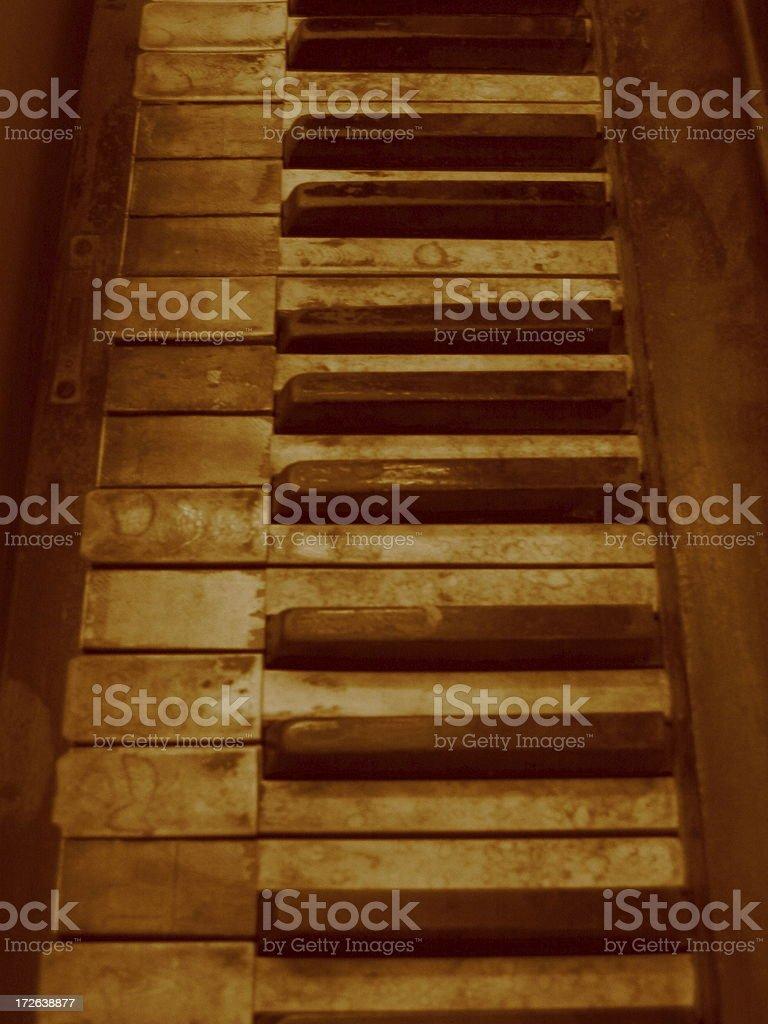 Piano - J royalty-free stock photo