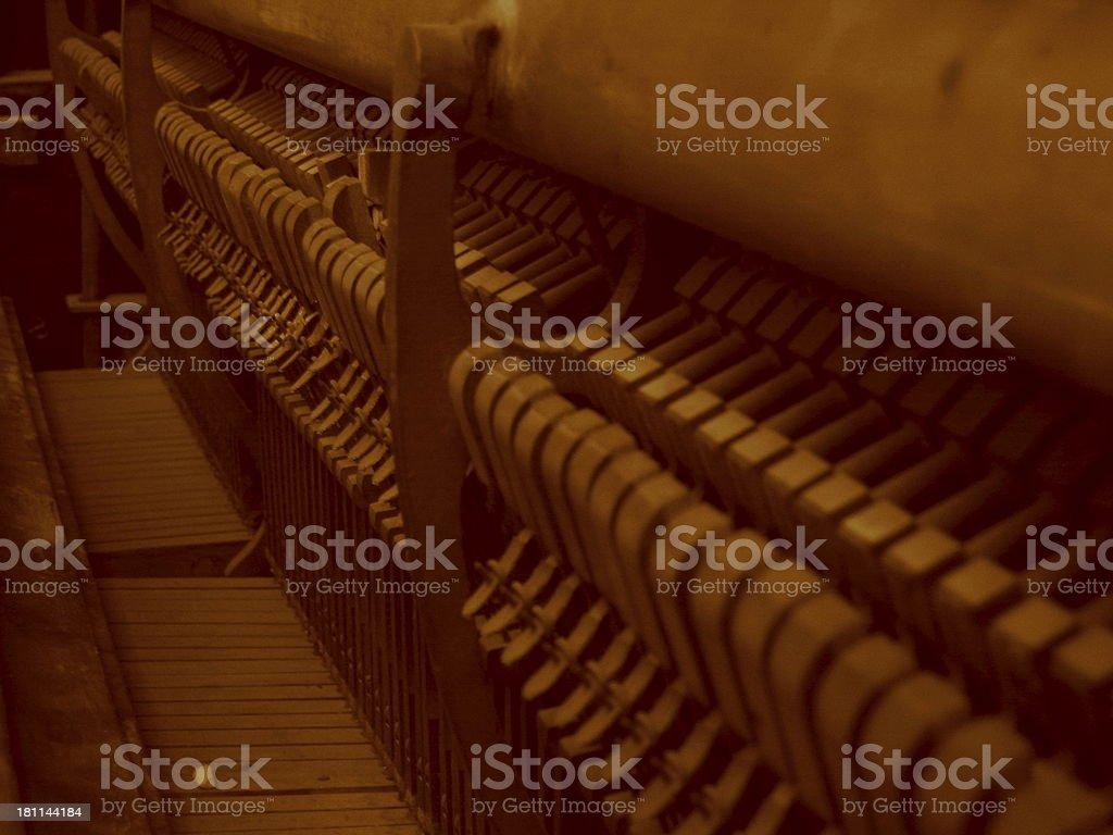 Piano - K royalty-free stock photo