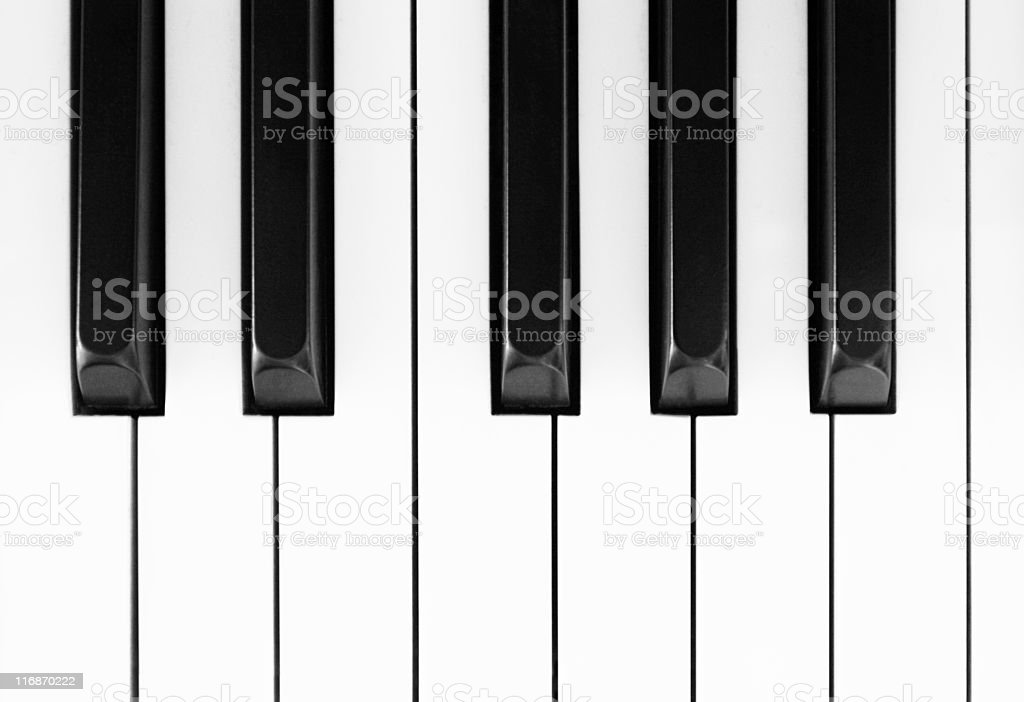 Piano Key Music String Instrument stock photo