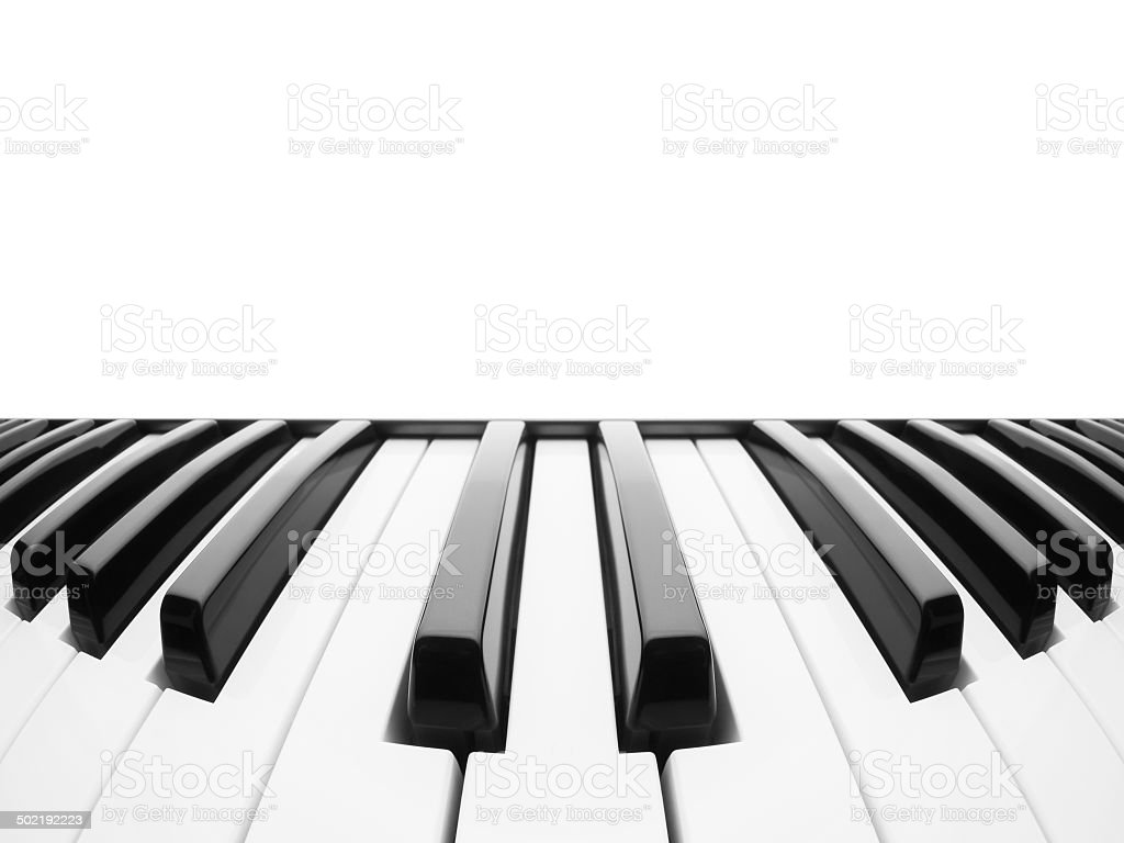 Piano keyboard. Abstract background stock photo