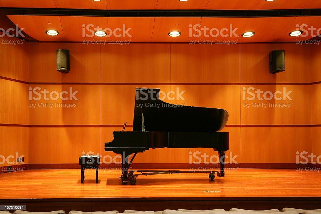 Piano Recital royalty-free stock photo