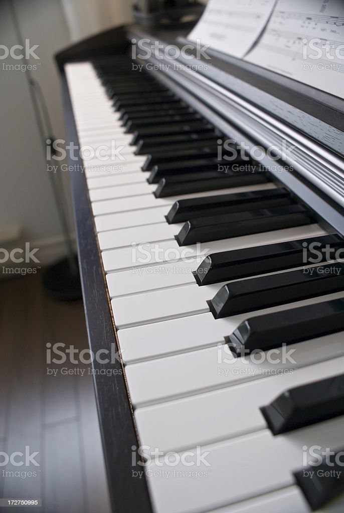 Piano Room royalty-free stock photo