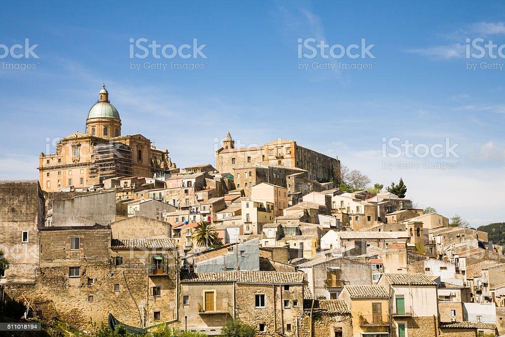 Piazza Armerina, Sicily stock photo