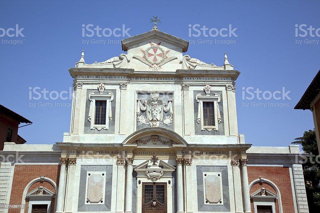 Piazza Dei Cavalieri. Pisa stock photo