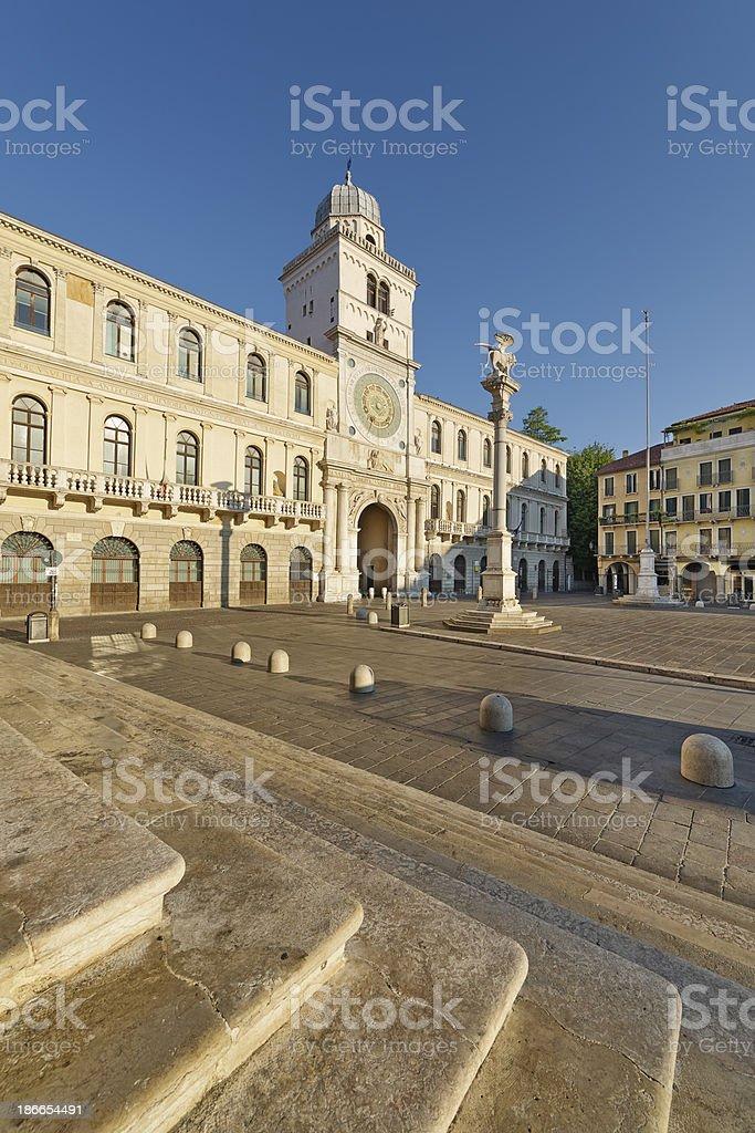 Piazza dei Signori (Padova) royalty-free stock photo