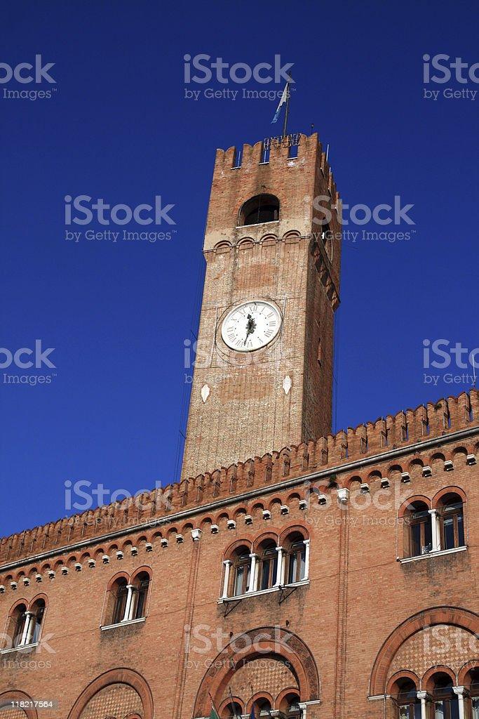 Piazza dei Signori - Treviso stock photo