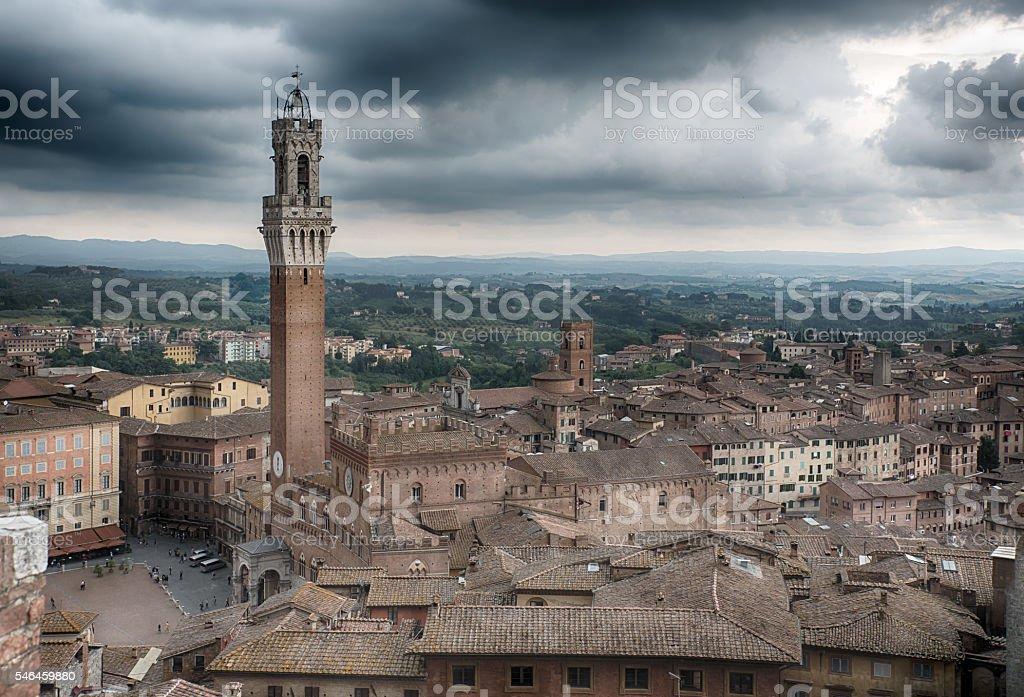 Piazza del Campo royalty-free stock photo