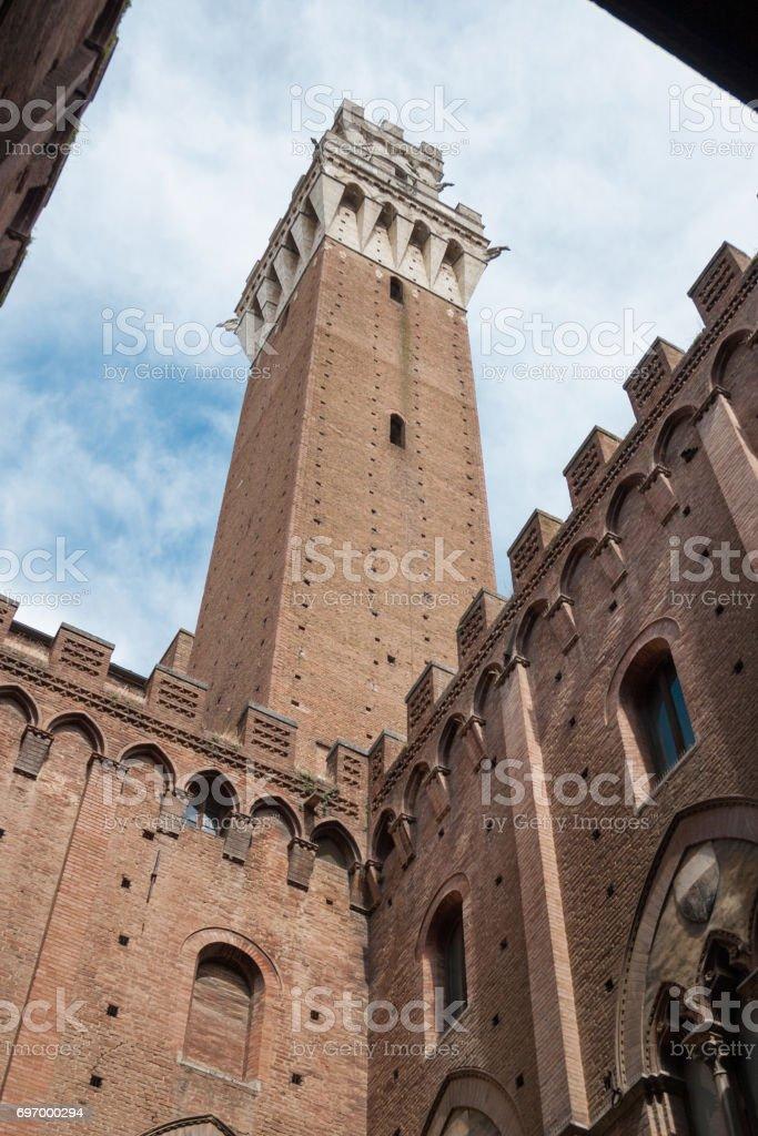 Piazza del Campo. Siena stock photo