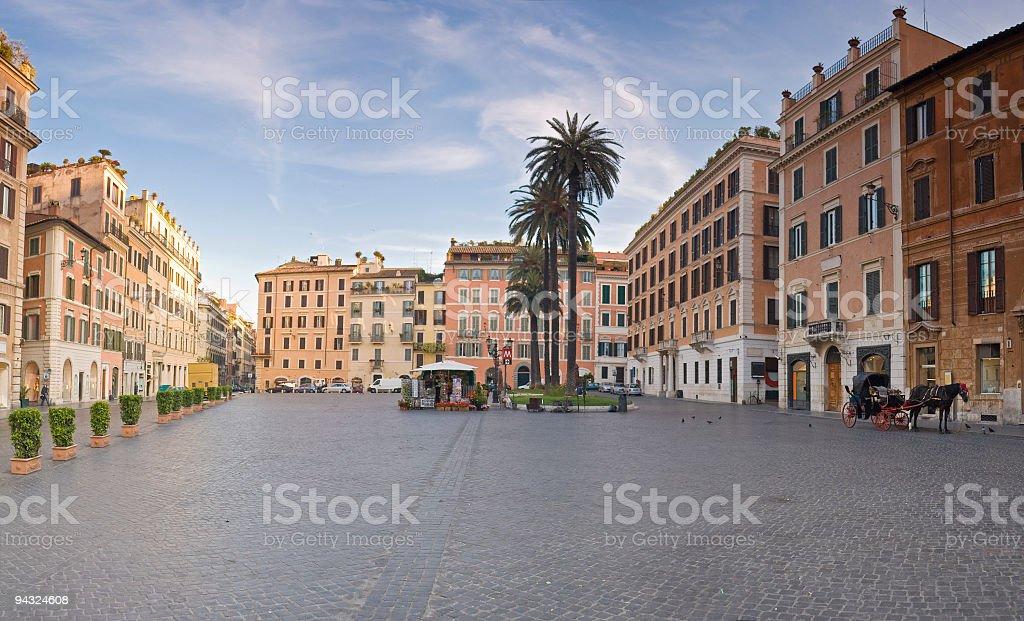 Piazza di Spagna, Roma stock photo