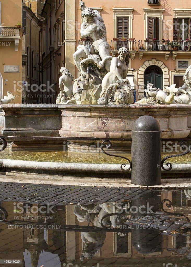 Piazza Navona royalty-free stock photo