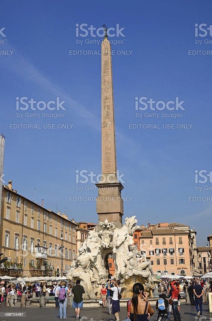 Piazza Navona stock photo