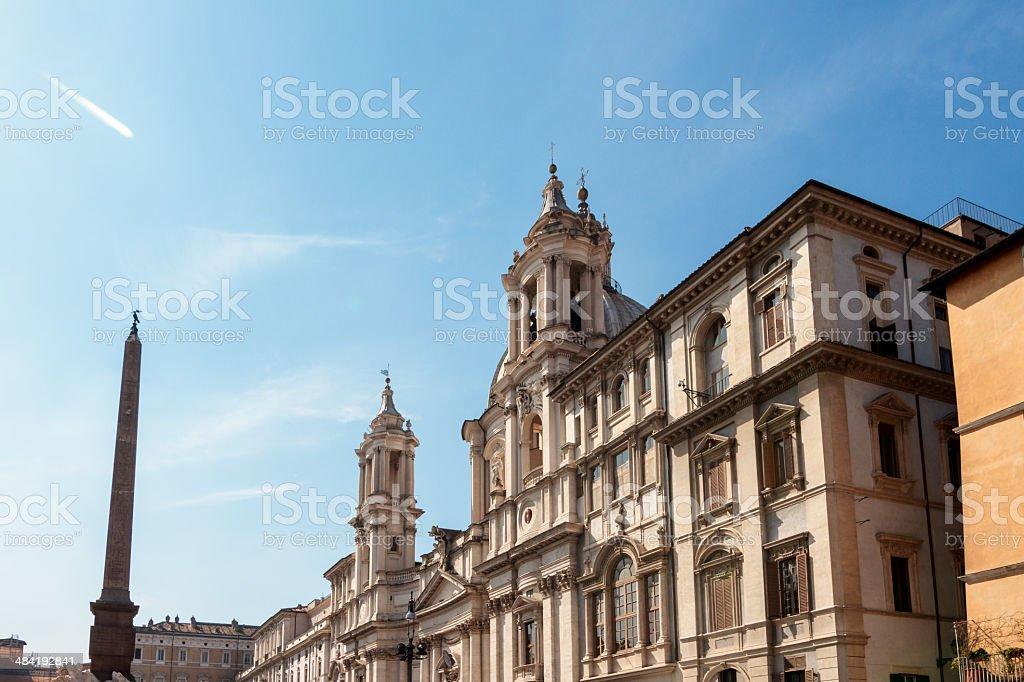 Piazza Navona Lizenzfreies stock-foto
