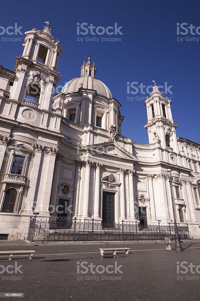 Piazza Navona, Rome Italy royalty-free stock photo
