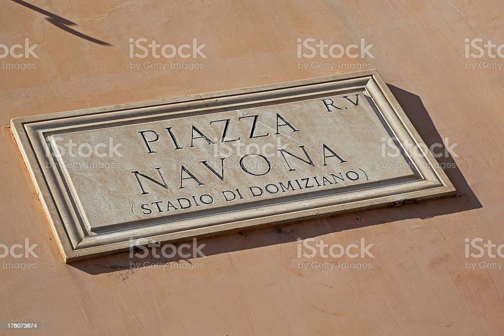 Piazza Navona # 1 XXL royalty-free stock photo