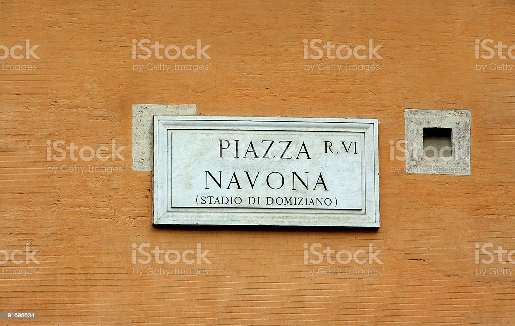 piazza royalty-free stock photo